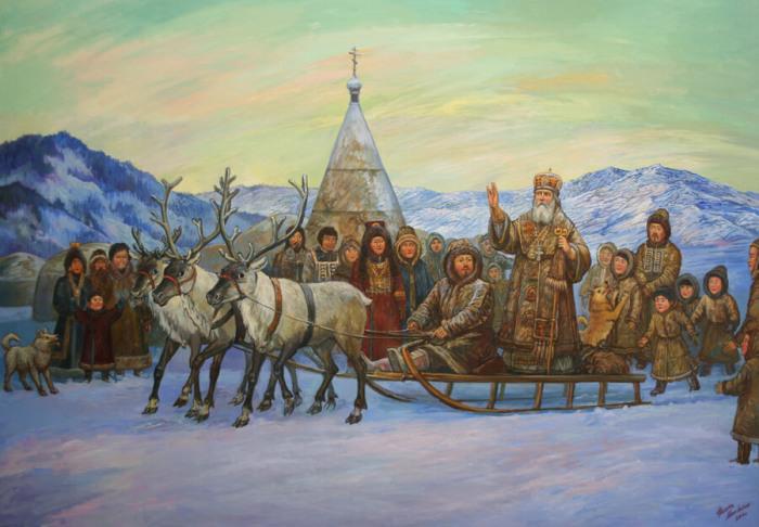Миссионерам удалось сделать алеутов православными христианами./Фото: openarctic.info